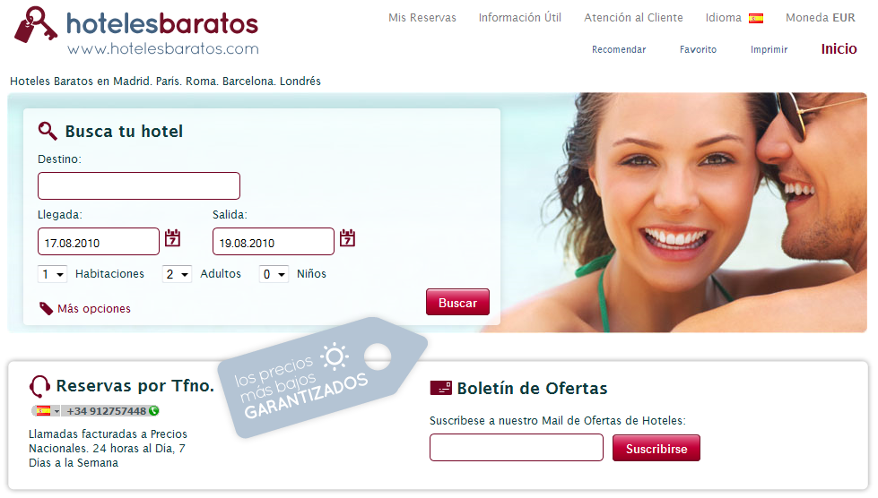 Buscador de hoteles baratos en todo el mundo for Buscador de hoteles en barcelona