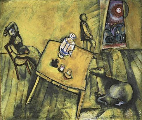 Habitación Amarilla Chagall