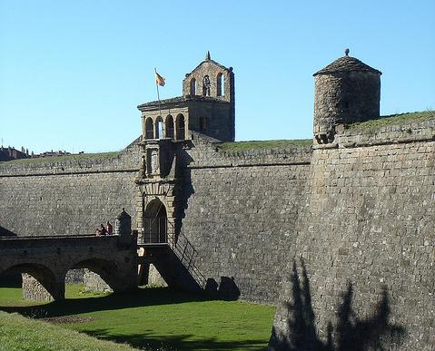 La Ciudadela de Jaca es uno de los símbolos de la ciudad