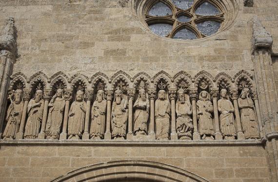 Fachada catedral Ciudad Rodrigo