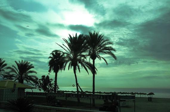 Playa en Málaga