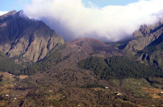 Volcán en Tenerife