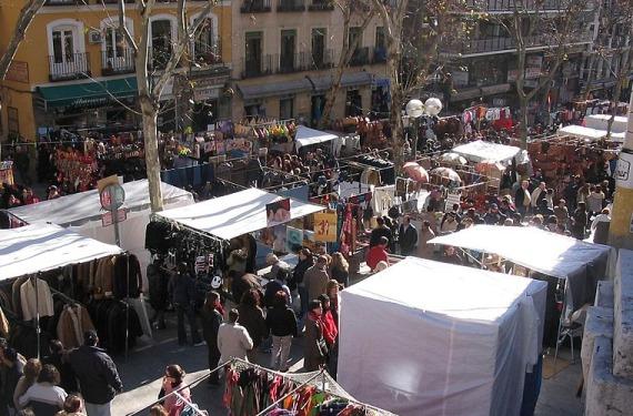 Rastro en Madrid