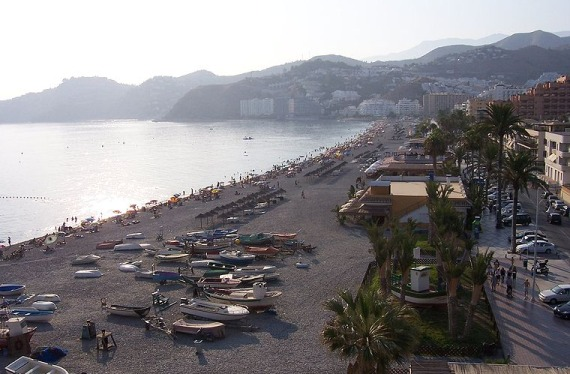 Playa en Granada