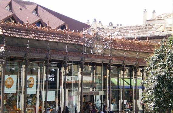 Mercado en Madrid