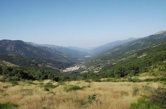 Valle en Extemadura