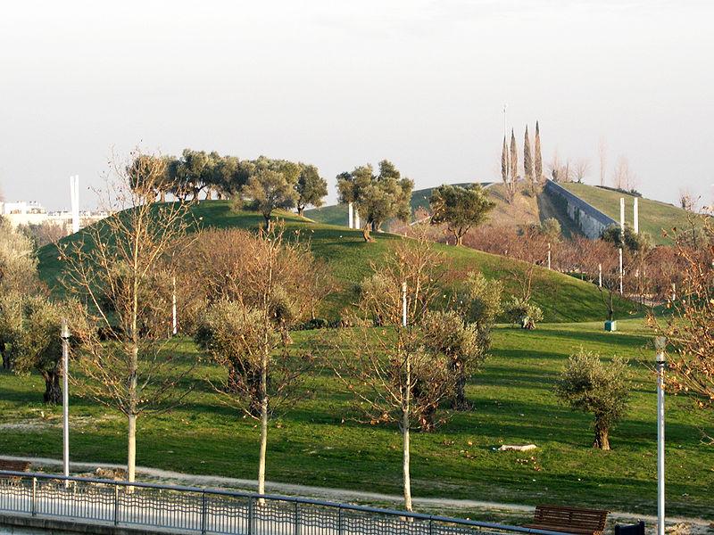 Parque en Madrid