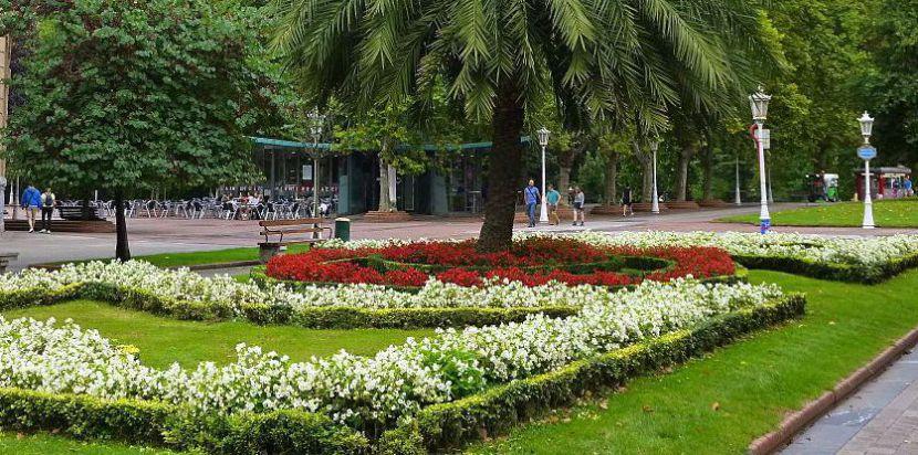 Parque en Bilbao