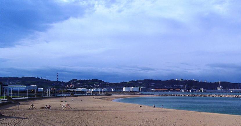 Gijón en España